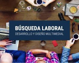 Bolsa de trabajo: Diseñador/a multimedial y/o desarrollador web