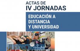 FLACSO Argentina publicó las actas de las IV Jornadas Educación a distancia y Universidad