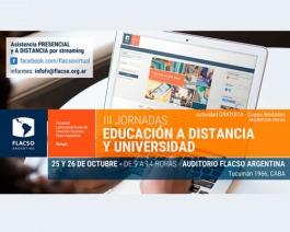 El PENT presente en las III Jornadas Educación a distancia y Universidad