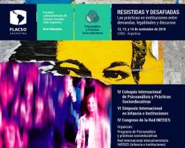 Coloquio Internacional: Resistidas y desafiadas