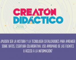 El Creatón Didáctico, un dispositivo pensado para inspirar y co-crear
