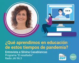 Aprendizajes de la comunidad educativa en tiempos de pandemia