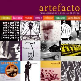 La revista Artefacto llegó a la Web